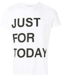 Ermanno Scervino - Just For Today T-shirt - Lyst