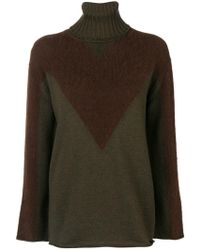 P.A.R.O.S.H. - Roll Neck Sweater - Lyst