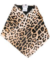 RED Valentino - Cheetah Printed Scarf - Lyst