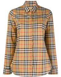 Burberry - House Check Shirt - Lyst