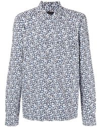 Dell'Oglio - Printed Shirt - Lyst