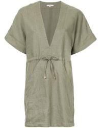 Venroy - V-neck Relaxed Dress - Lyst