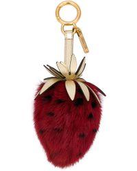 Fendi - Strawberry Key Ring - Lyst