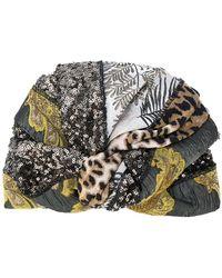 Antonio Marras - Mixed Fabric Wrap Hat - Lyst