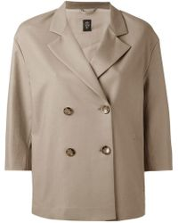 Eleventy - Double Breasted Jacket - Lyst