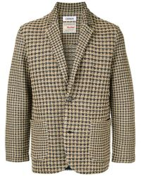 Coohem - Checked Tweed Jacket - Lyst