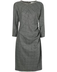 Fabiana Filippi - Draped Detail Midi Dress - Lyst