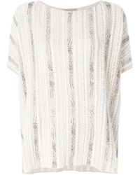 Ermanno Scervino - Oversized Slouchy T-shirt - Lyst