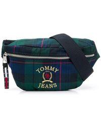 Tommy Hilfiger - 6.0 Crest Plaid Bag - Lyst