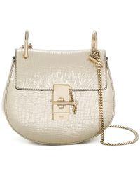 Chloé | Metallic Drew Shoulder Bag | Lyst