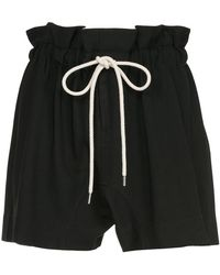 Bassike - Paper Bag Shorts - Lyst