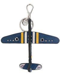 Prada - Aeroplane Keyring - Lyst