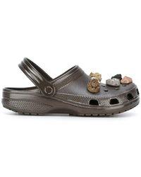 Christopher Kane - Stone Embellished Crocs Clogs - Lyst