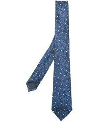 Z Zegna - Polka-dot Embroidered Tie - Lyst