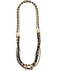 Camila Klein - Embellished Long Necklace - Lyst
