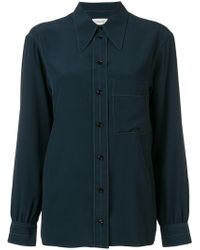 Lemaire - Pointed Collar Shirt - Lyst