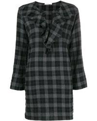 Lareida - Dress Tartan Dress - Lyst