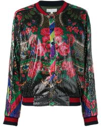 Pierre Louis Mascia - Barbarians Sequined Bomber - Lyst