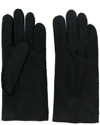 A.P.C. | Shearling Gloves | Lyst