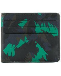 Tomas Maier - Camo Palm Card Case - Lyst