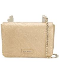Love Moschino - Embossed Logo Shoulder Bag - Lyst