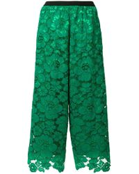 Antonio Marras | Lace Wide Leg Culottes | Lyst