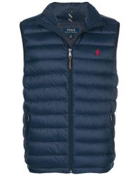 ab1f939db372e Polo Ralph Lauren - Quilted down vest - Lyst