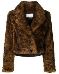 Paco Rabanne - Faux Fur Jacket - Lyst