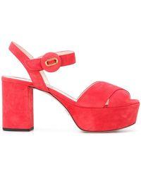 Prada - Platform Sandals - Lyst