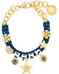 Dolce & Gabbana - Star Dice Charm Bracelet - Lyst