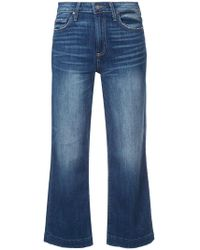 PAIGE - 'Nellie' Cropped-Jeans - Lyst