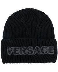 Versace - Knit Cap - Lyst