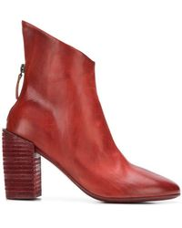Marsèll - Cut-out Ankle Detailed Boots - Lyst