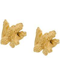 Niza Huang - Under Earth Irregular Earrings - Lyst