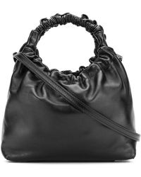 The Row - Ruched Handle Tote Bag - Lyst