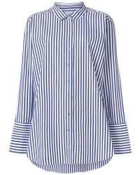 Marques'Almeida - Striped Long-sleeve Shirt - Lyst