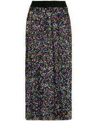 Ultrachic - Sequin Midi Skirt - Lyst