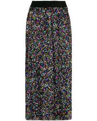Ultrachic - Sequin Midi Skirt - Lyst