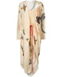 Vionnet - Printed Wrap Dress - Lyst