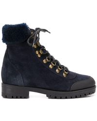Mr & Mrs Italy - Trimmed Hiker Boots - Lyst