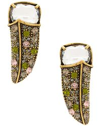 Camila Klein - Strass Tucan Earrings - Lyst