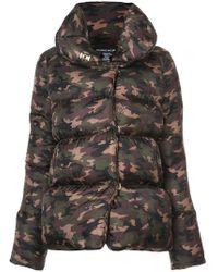 Thomas Wylde - Camouflage Padded Jacket - Lyst
