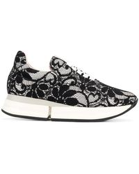 Pretty Ballerinas - Scarlet Lace Trainers - Lyst