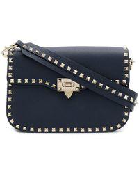 Valentino - Rockstud Messenger Bag - Lyst