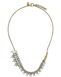 Iosselliani - White Eclipse Necklace - Lyst
