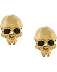 Kasun - Vampire Skull Earrings - Lyst