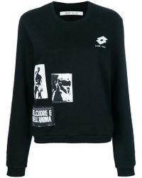 Damir Doma - Graphic Patch Sweatshirt - Lyst