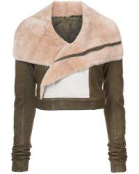 Rick Owens - Off-centre Zipped Jacket - Lyst