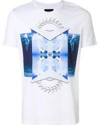Frankie Morello   Printed T-shirt   Lyst