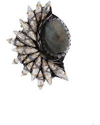 Deepa Gurnani - Embellished Stud Earring - Lyst